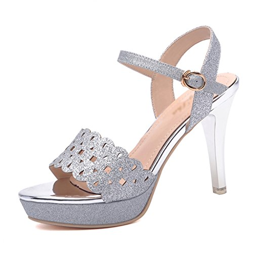 Chaussures femme HWF Sandales Femme Summer Talons Hauts Ms