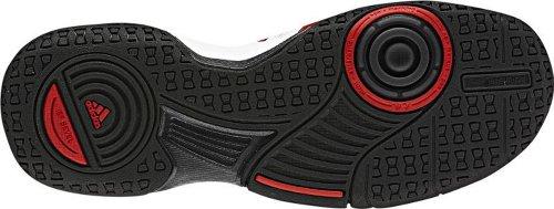 Adidas Court Stabil 2Xj Junior Blanc g60628Taille 36 - weiß / rot / schwarz