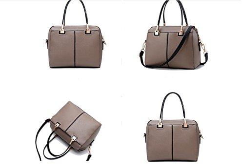Borse, signore semplice borsa, il sacchetto di spalla di modo, sacchetto del messaggero Brown