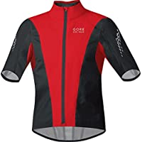 Gore Bike Wear - Maglia da ciclismo da uomo Xenon Active Shell a maniche corte, Rosso (rosso), XXL