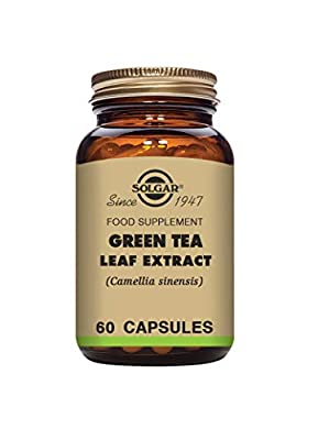Solgar Green Tea Leaf Extract Vegetable Capsules - Pack of 60 from Solgar
