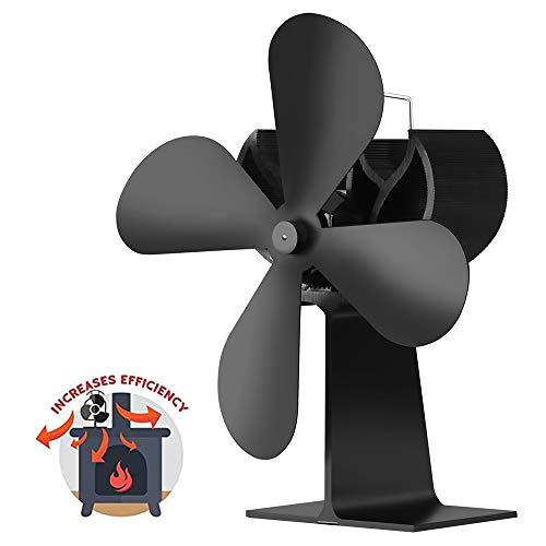 AMZ BCS Kamin Fan Heißluft Umwälzpumpe Wärme Dynamische Fan Mute Ventilator Kohle Holzpelletbrenner Innenlüfter Thermal Drive Gebläse - Multi Flamme Heizung