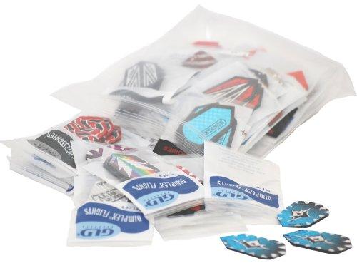 Viper Dimplex-Dart-Flights, 50 Sets von Flights 150 Stück, Unisex-Erwachsene, Einheitsgröße - Viper Flights Dart