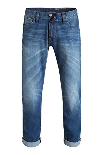 edc by ESPRIT StoneWashed, Jeans da Uomo Blu (C Medium Blue 955)