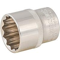 "Silverline 449975 Vaso Bihexagonal Métrico de 1/2"", 24 mm"