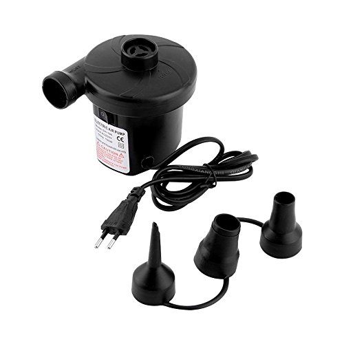 VDNSI AC Electric Vacuum Air Pump Quickly Inflates/Deflates Sofa, Bed, Swimming Pool Tubes, Toys, Bags and Mattresses