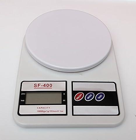 Balance Scale - 10kg Balances numériques électroniques de cuisine ou