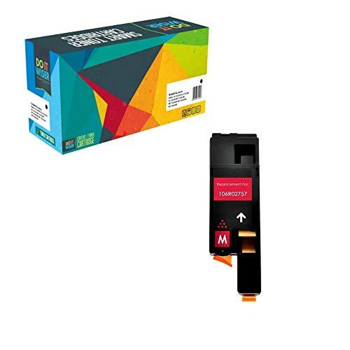 Do it Wiser Kompatibel Toner 106R02757 zu Xerox WorkCentre 6027 Phaser 6020 Phaser 6022 Workcentre 6025 - Magenta -