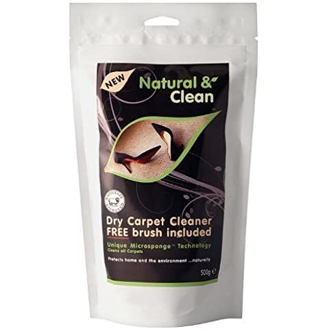 Naturale e pulito e asciutto polvere per la pulizia dei