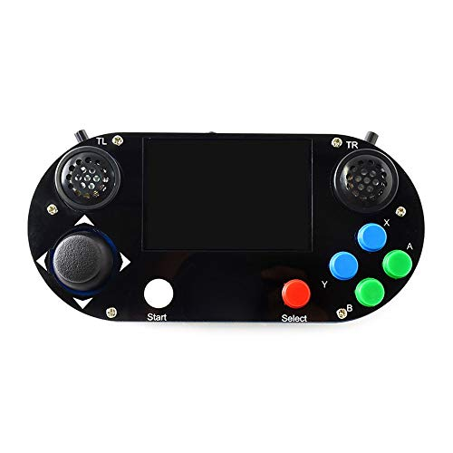 ZHQEUR 3 B + Plus / 3B / Null W RetroPie-Spiel HAT Console Gamepad mit 480 x 320 3,5 Zoll IPS-Bildschirm 3D Drucker (Color : Multi-Colored, Size : A) Gigabit Ethernet-802.11 B/g/n Bluetooth