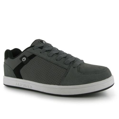 airwalk-brock-mens-boys-skate-lace-up-casual-suede-trainers-uk-6-grade-a