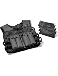 Tunturi-Fitness 14TUSCL246 Tunturi Veste pondérée réglable 10 kg