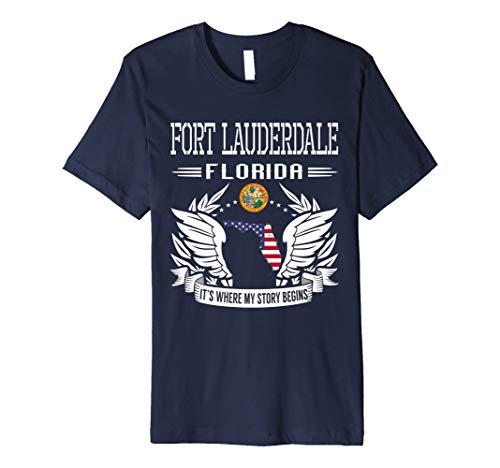 Fort Lauderdale, FL–Es ist, wo My Story Begins TShirt