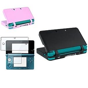 Display Folie+ Strom Netzteil+ Kabel f�r Nintendo 3DS