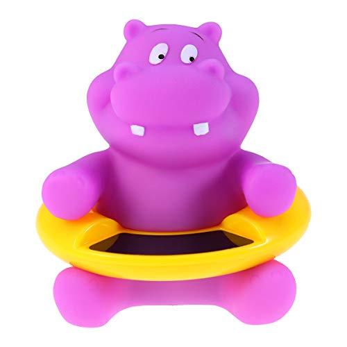 Yardwe Baby Badethermometer Schwimmbad Badewanne Thermometer für Schwimmende Pool Whirlpool Teich Spa (Hippo)