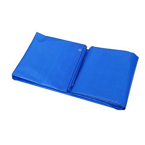 Preisvergleich Produktbild XUEYAN Blaue Wasserdichte Plane verdicken Hochleistungsplane bedeckt imprägniern Tarp Schuppen-Stoff im Freien (größe : 6x8m)
