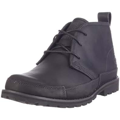 Timberland EK Originals Boots FTM_EK Barentsburg Plain Toe Chukka 84586, Herren Chukka Boots, Schwarz (BLACK), EU 46 (US 12)