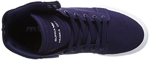Supra SKYTOP D Unisex-Erwachsene Hohe Sneakers Blau (NAVY - WHITE NVY)