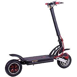 SABWAY® Patinete Eléctrico Adulto Doble Motor 1600w - Scooter sin Silla y Acelerador Dual Twin Motor