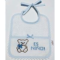 Babero bebé EXCLUSIVO OSITO HAPPY COLORS by INMA