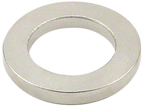 Magnet Expert® F4025SC-1 40mm extérieur x 25mm i.d. x 5mm de diametre-Aimant Samarium Cobalt Anneau épais-11,4 kg d'attraction (Paquet de 1), Argent