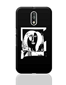 PosterGuy Moto G4 Plus Covers & Cases - A Freaky Love Affair Painting | Designed by: Derek M