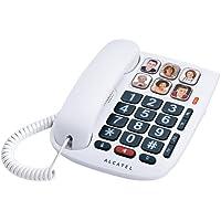 Alcatel Max 10 Téléphone Filaire pour Seniors Blanc