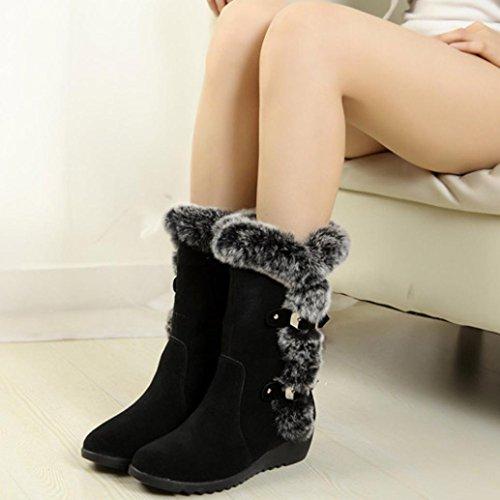 Amlaiworld Donna scarpe Autunno inverno stivali con tacco  alto   tacco 809031