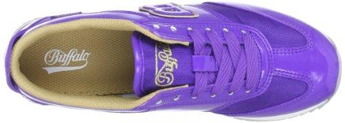 Buffalo 5451-161 PATENT NYLON 145931 Damen Sneaker Violett (PURPLE 46)