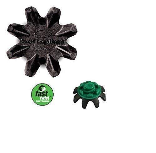 Black Widow Softspikes für Footjoy Golf Schuhe Fast Twist Gewinde x 16