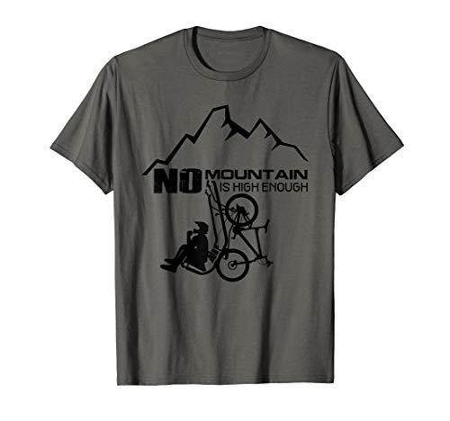 MTB Mountainbike Trikot - lustiges Fahrrad mit Lift Geschenk T-Shirt