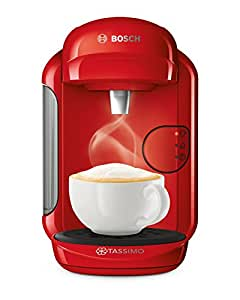 Tassimo Coffee Maker For Office : BoschTAS1403GB Tassimo Vivy 2 Coffee Machine, 0.7 Litre, 1300 W, Red: Amazon.co.uk: Kitchen & Home