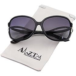 AMZTM Klassisch Mode Groß Fahren Brille überdimensioniert Polarisiert Sonnenbrille Damen