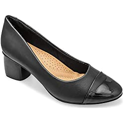 tresmode Women's Black Pumps