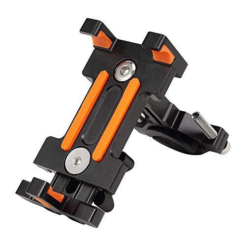 Jevogh GR30 Handy Halter Handyhalterung für Fahrrad Elektromobile Motorrad, Anti Rutsch Shock Absorbieren Bike Phone Mount Halter Cradle für Smartphones in Größe 2.36