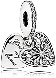 Pandora Women Silver Bead Charm - 796372CZ