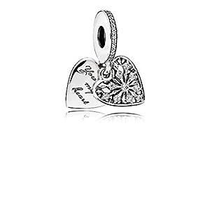 Pandora Charm-Anhänger Winter-Herz 796372CZ
