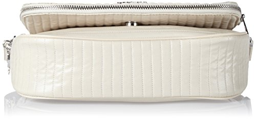 Kipling Earthbeat S, Borse a tracolla Donna Bianco (Misty White)