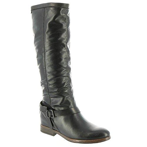 Pikolinos Womens Ordino W8M-9596 Leather Boots Black