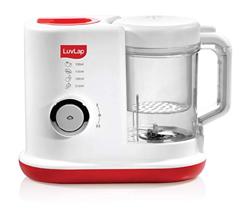 LuvLap Royal Steamer Blender, White