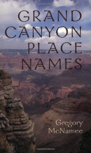 Grand Canyon Place Names (English Edition)