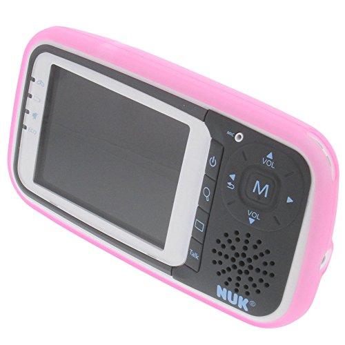 Tasche für NUK Eco Control Gummi TPU Schutz Hülle pink