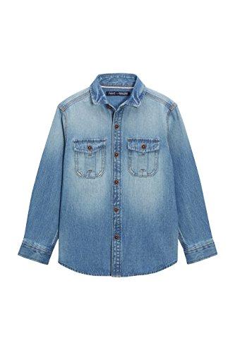 next Bambini e ragazzi Camicia Blu In Jeans A Maniche Lunghe (3-16 Anni) 12 Anni