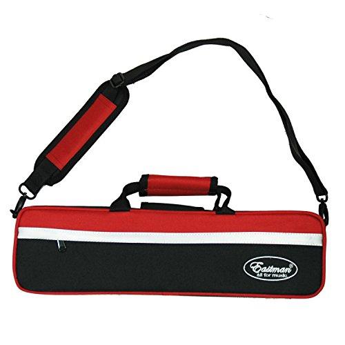 Querflötenkoffer Koffer für Querflöte Eastman EFL-501 Flötenkoffer Gigbag Koffer für Flöte - Farbe: Rot