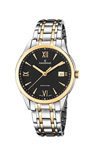 Candino Reloj Análogo clásico para Hombre de Cuarzo con Correa en Acero Inoxidable C4694/3