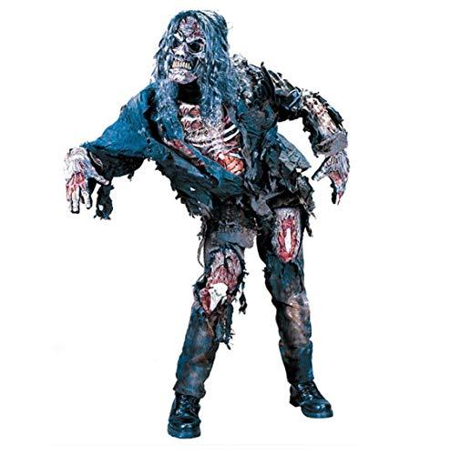 Tdhappy Halloween - Erwachsenen - Horror Faul Zombie Rollenspiele Kostüm - Kostüm Maske.