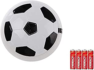 SDH Enterprises Magic Hover Indoor Football Toy with LED Lights (Multicolour)