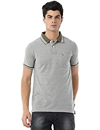 Classic Polo Great Polo T-Shirt With Olive Collar