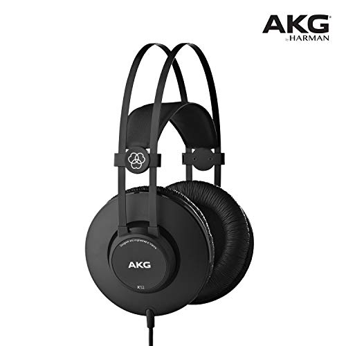 AKG K52, Cuffie Closed-Back, Nero