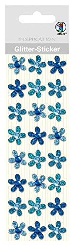 Ursus 75000001Glitter Sticker Flores